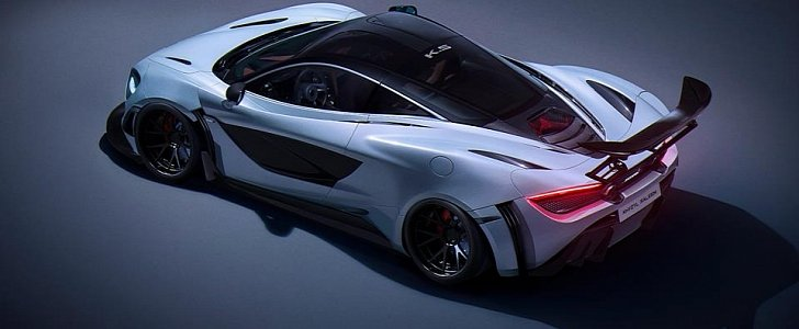 Track Pack McLaren 720S Goes All Racecar in This Extreme Rendering