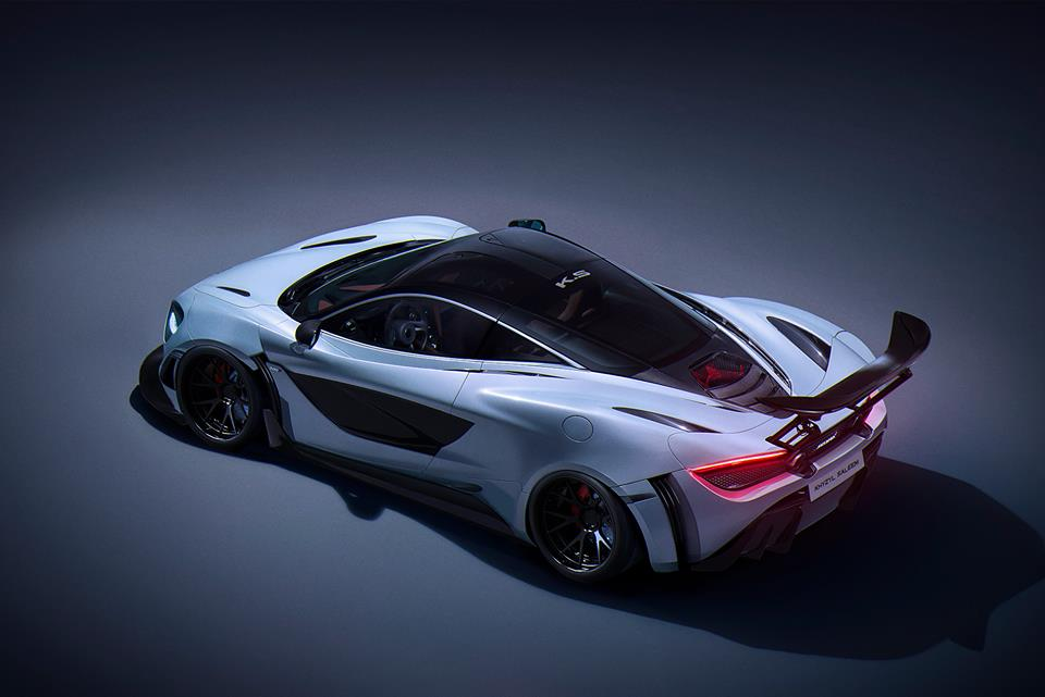 Race Car Junk >> Track Pack McLaren 720S Goes All Racecar in This Extreme Rendering - autoevolution