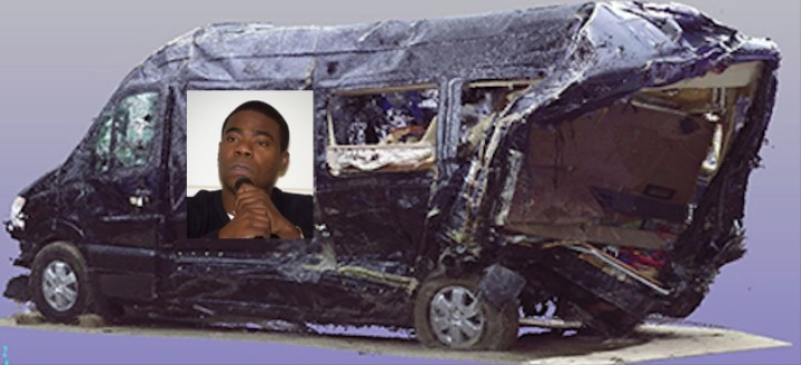 Tracy Morgan Crash Photos And Report Revealed Truck
