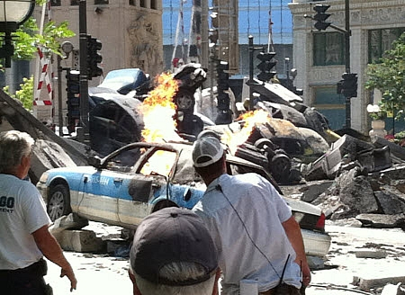 Towed Car Finder >> Transformers 3 Accident Injures Extra - autoevolution