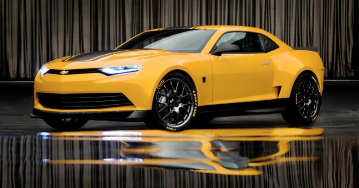 Transformers 4 bumblebee is the 2014 concept camaro autoevolution
