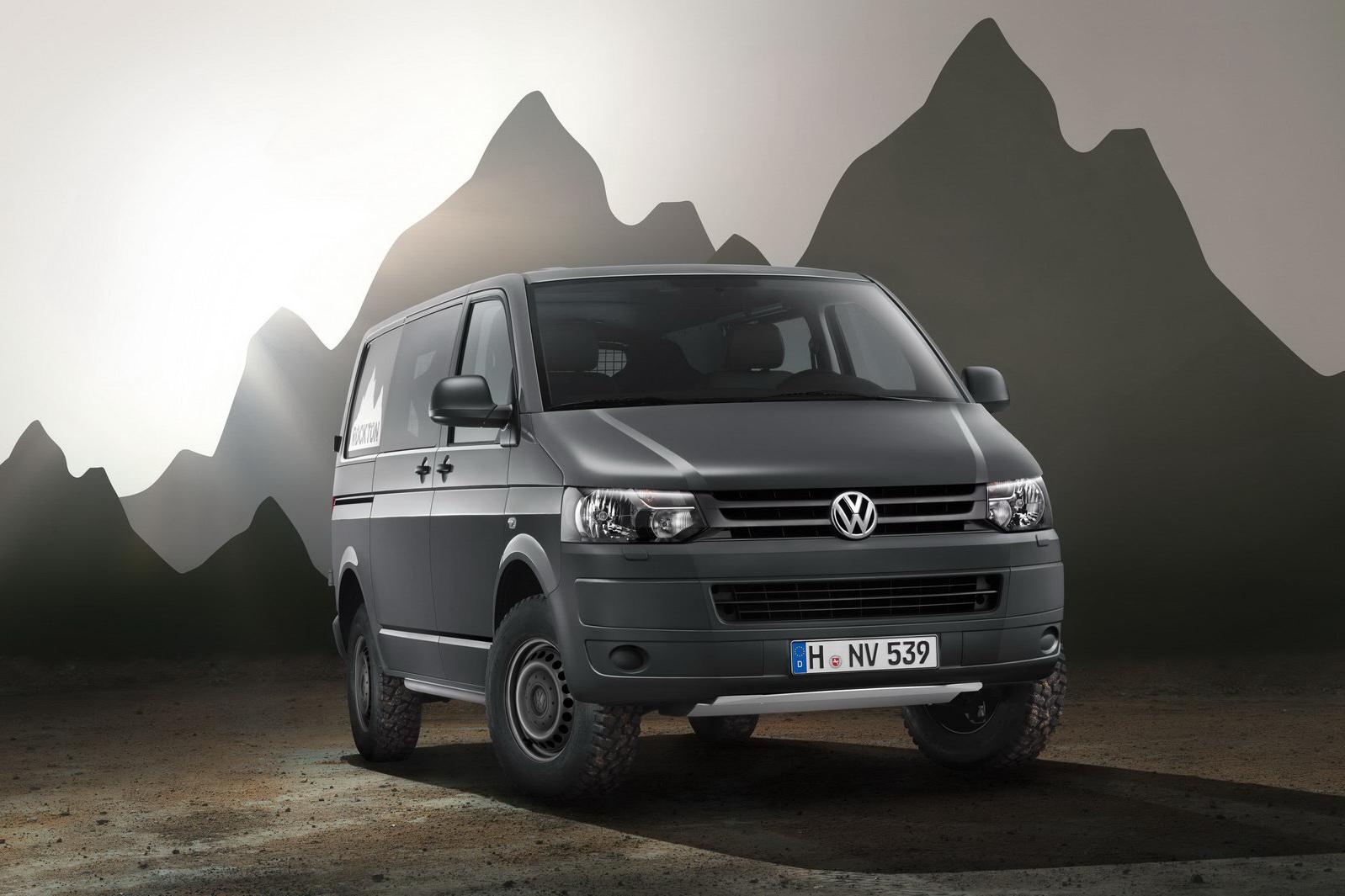 Transporter Rockton Off Roading Van Launched Autoevolution