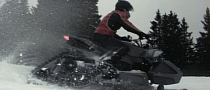 Triazuma Snow, Lazareth R1-Powered Snow Trike [Video]