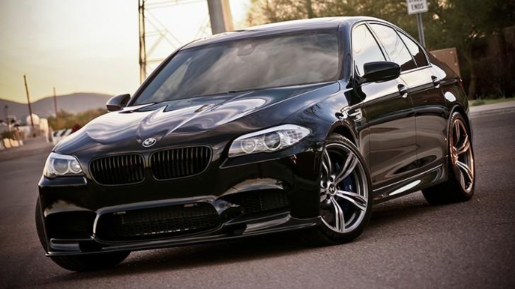 Triple Black BMW M5 Will Haunt Your Dreams - autoevolution