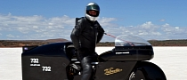 Triple Record-Breaking for 171 mph Velocette