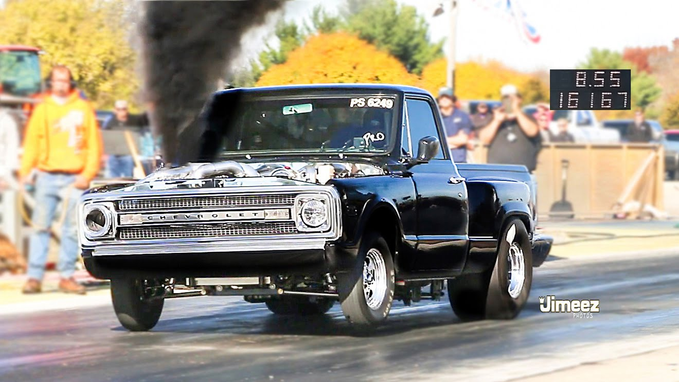 Triple Turbocharged Duramax Diesel C10 Doesn T Care About Dieselgate Runs 8 5s Autoevolution