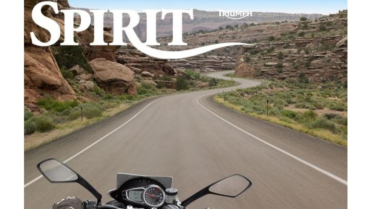 Triumph Motorcycles New 'Spirit' Magazine Is Now Available