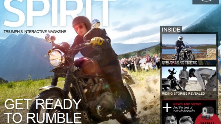 Triumph Spirit Magazine Issue 8 Out Now