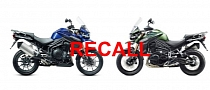 Triumph Tiger Explorer Recalled