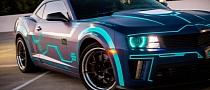 Tron-Inspired Camaro by SS Customs [Photo Gallery]