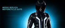 Tron Legacy Motorcycle Suits Now Available