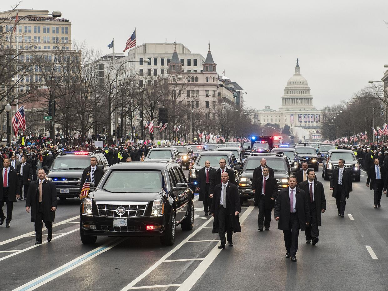 Secret Service Detains Driver of Press Van After Gun Discovered