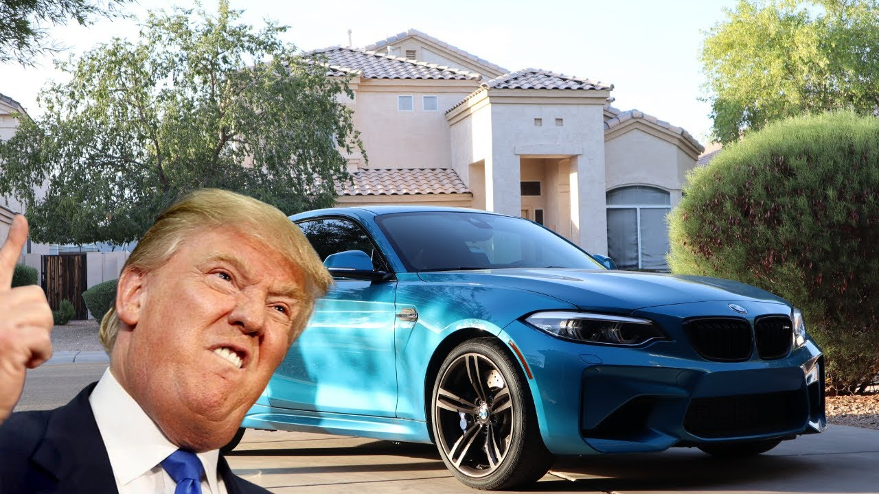 Trump Takes Time To Review A Bmw M2 In Funny Impersonating Sketch Autoevolution