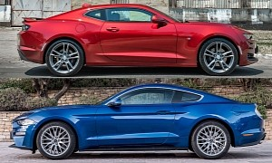 Making Sense of How the Ford Mustang Outsold Chevy's Camaro Two-to-One Last Year