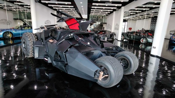 Tumbler Batmobile And Tron Bike For Sale In Dubai Luxury