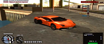 Tuned Aventador in GTA San Andreas [Video]