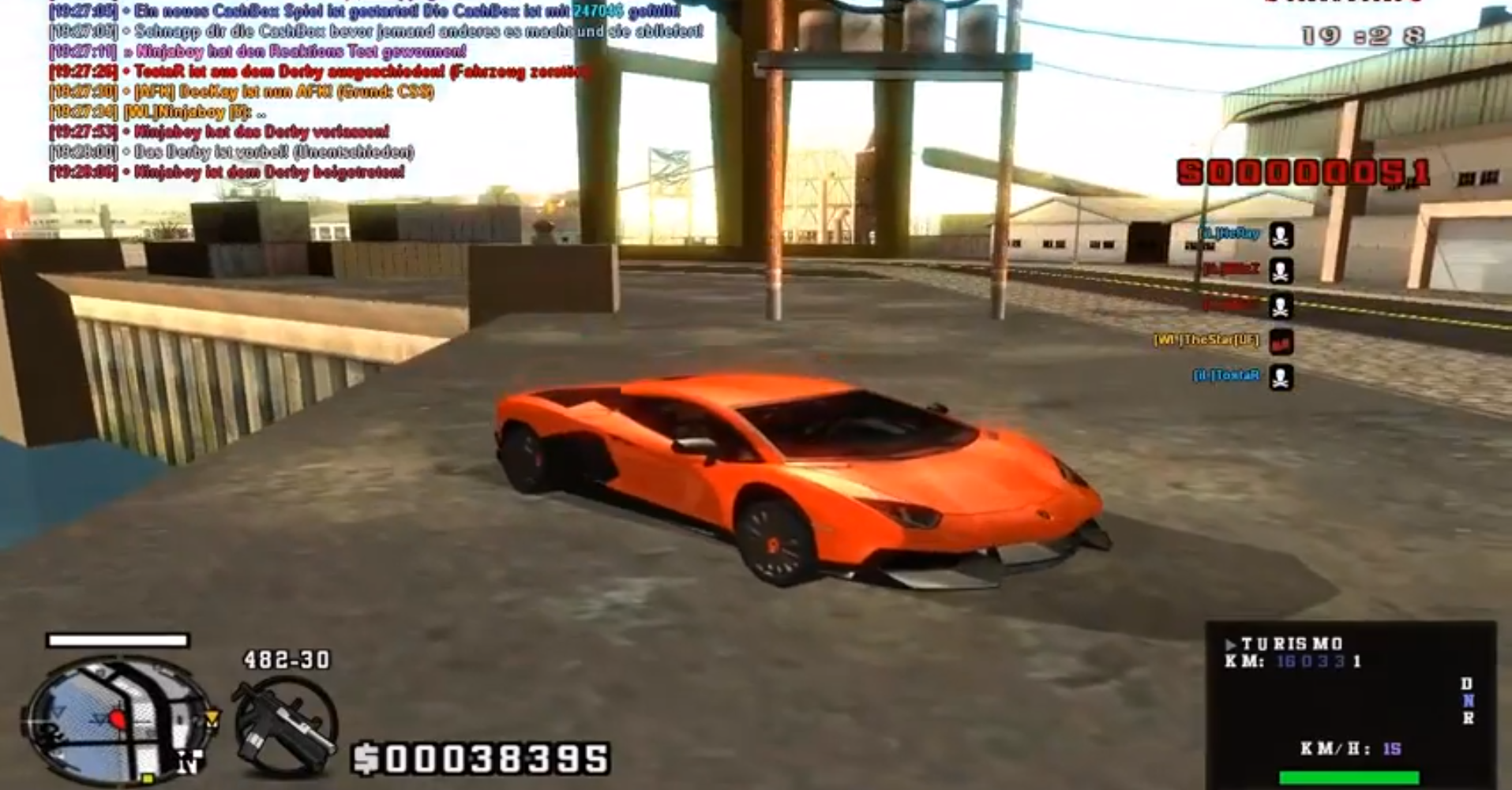 Tuned Aventador in GTA San Andreas - autoevolution