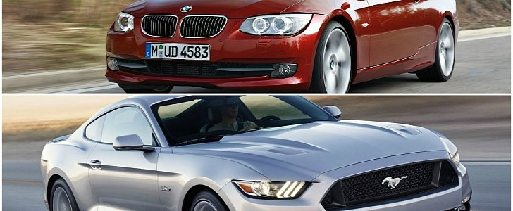 tuned bmw 335i drag races a 2015 ford mustang gt on e85. Black Bedroom Furniture Sets. Home Design Ideas