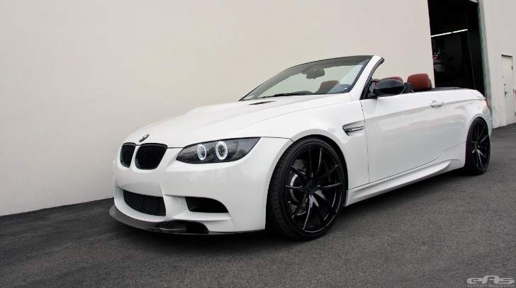 tuned bmw e93 m3 convertible puts down 376 hp at the. Black Bedroom Furniture Sets. Home Design Ideas