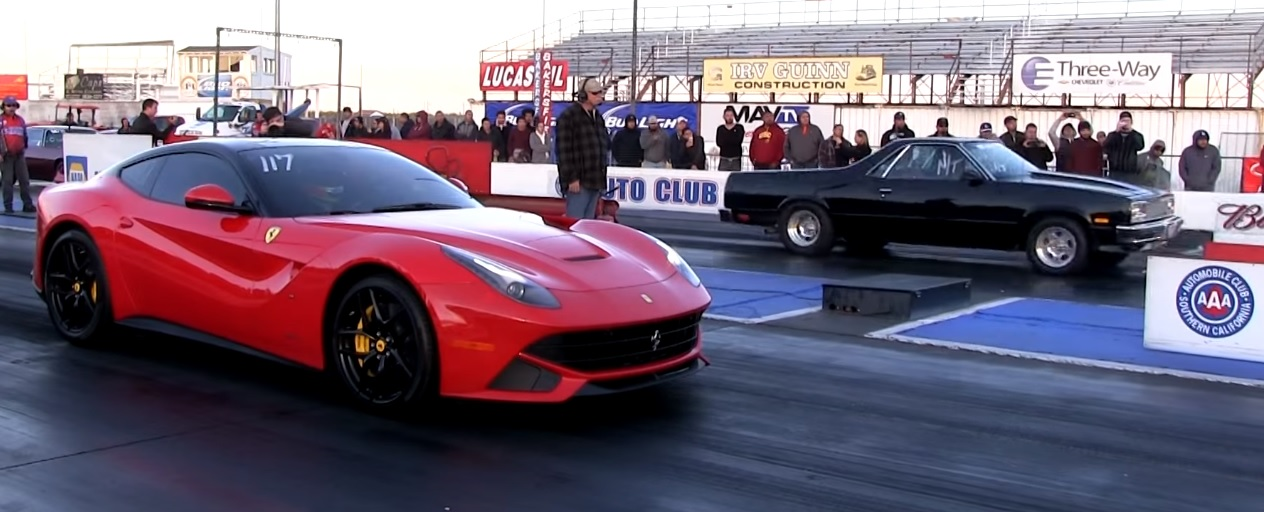 Tuned Ferrari F12 With Almost 800 Hp Goes Drag Racing Autoevolution