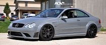 Tuned Mercedes CLK63 AMG Black Series Rides on ADV.1 Wheels