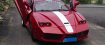Tuning Gone Wrong – Chinese Enzo Replica Based on Geely Coupe
