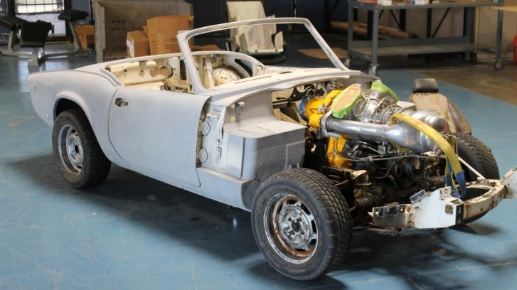 Turbine-Powered Triumph Spitfire [Photo Gallery]