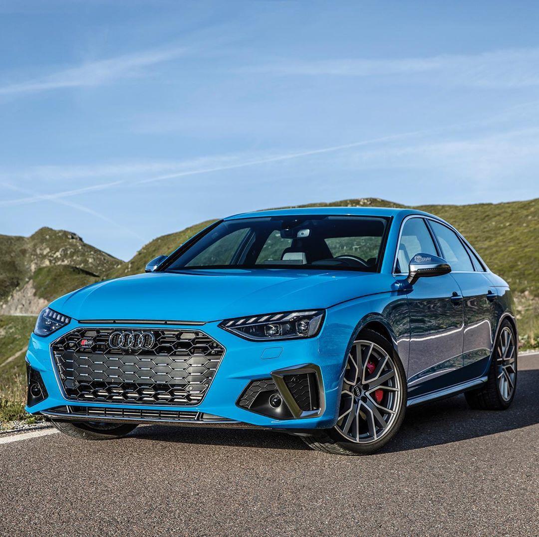 Turbo Blue 2020 Audi S4 TDI Is A Cool Sedan, Exhaust Is