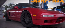 Turbo Honda NSX Races Nissan GTR [Video]