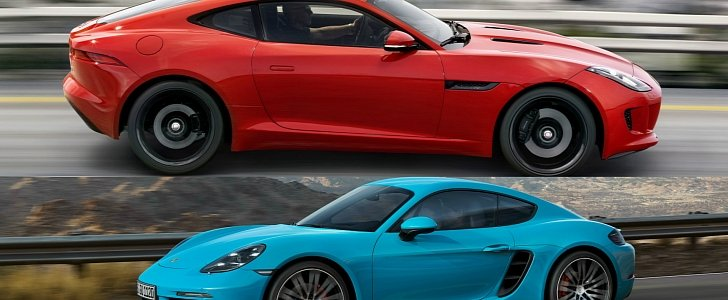 Turbo Porsche 718 Cayman S Uses More Fuel Than a Supercharged Jaguar F-Type