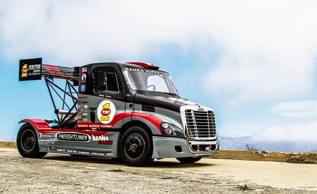 Turbocharged Freightliner Truck to Race at Pikes Peak