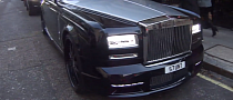 Turned Rolls-Royce Phantom Driven by James Stunt [Video]