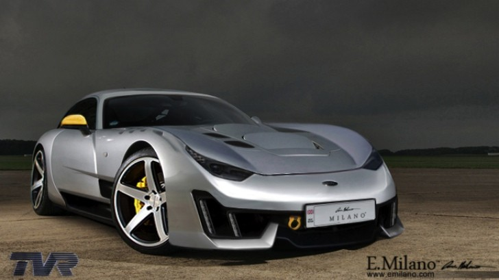 TVR Revival Pictured in 2014 Sagaris Renderings