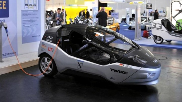 Twike Promises 500km Range With Their Electric Trike