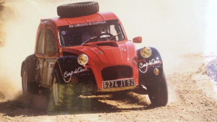 Twin-Engine Citroen 2CV Rally Car On Sale - Dirt Cheap ...