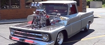 Twin Supercharged 1965 Chevy Pickup Will Blow Your Mind [Video]