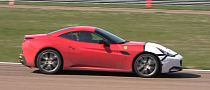Twin-Turbo Ferrari California Prototype Spotted at Fiorano [Video]