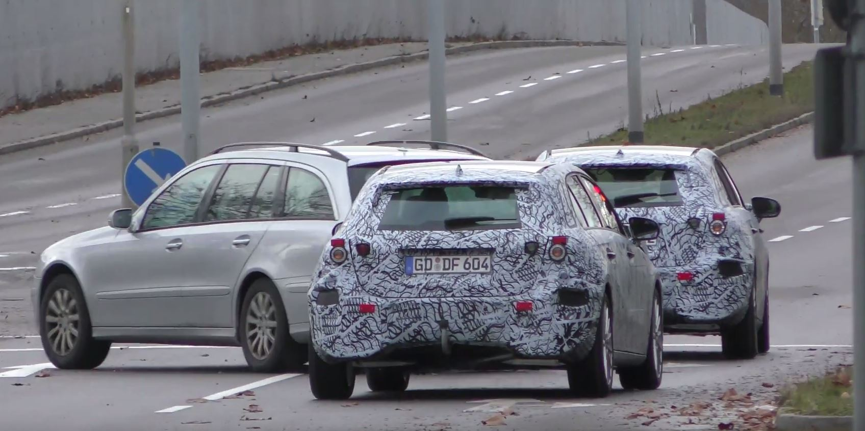 Two 2018 Mercedes A Class Prototypes Filmed In Germany