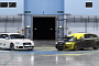 Two Audi RS4 Combine Drifting and Paintball [Video]