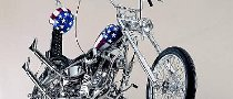Two Captain America H-D Recreation Bikes Up for Auction