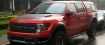 Two Ford F-150 Raptors Spotted in China