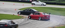 Two Lexus IS Tandem Drifting [Video]