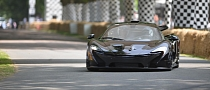 Two McLaren P1 Supercars at Goodwood 2013 [Video]