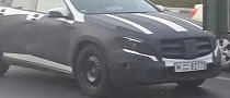 Mercedes GLA Prototypes Spotted in Dubai Again [Video]