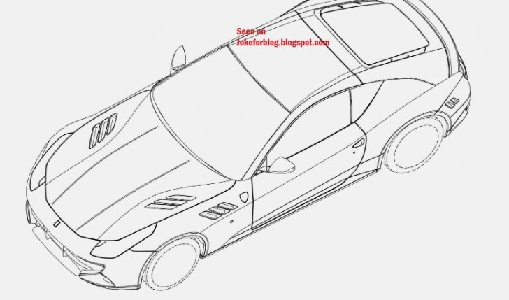 Two-Seater Ferrari FF Fastback Coupe Emerges