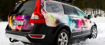 Two Volvo XC60 for the Best Snowboard Riders at Burton European Open