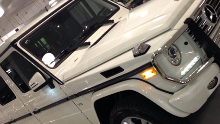 Tyga Buys a Mercedes G-Class for Blac Chyna