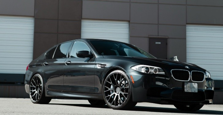 U2013 F10 BMW M5 on PUR Wheels