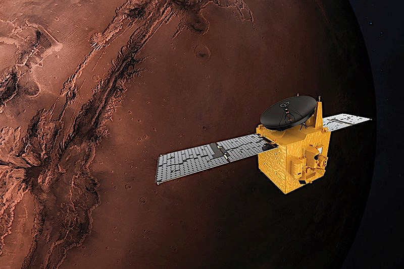 UAE launches Mars mission to understand red planet