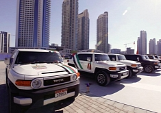 UAE Celebrating National Day With Toyota FJ Cruiser Parade [Photo Gallery]